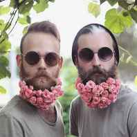 04 Most Elaborate Flower Beard Ideas