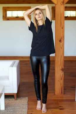 07 Cool Girls WaysTo Wear Leather Legging