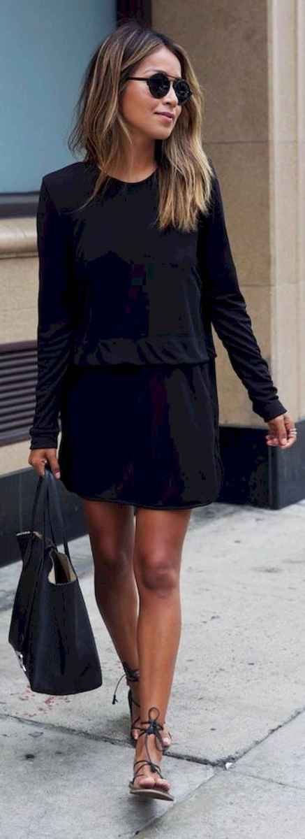 08 Chic All Black Outfit