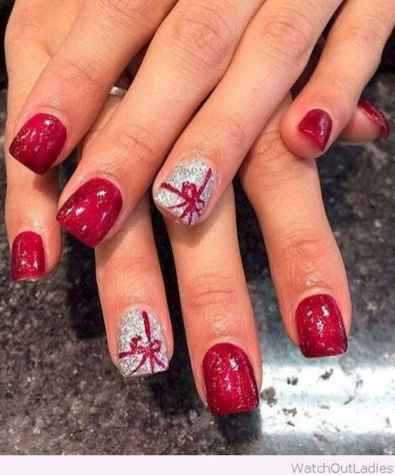 09 Easy Winter Nail Art Ideas
