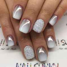 10 Easy Winter Nail Art Ideas