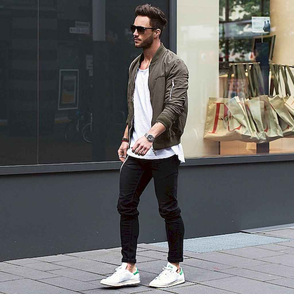 13 Men Outfit Ideas With Bomber Jacket