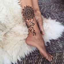 15 Most Popular Leg Tattoos Ideas for Women