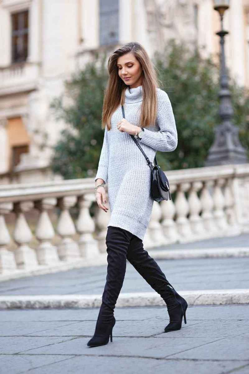 17 Adorable Winter Outfit Ideas with Boots