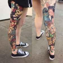 17 Most Popular Leg Tattoos Ideas for Women