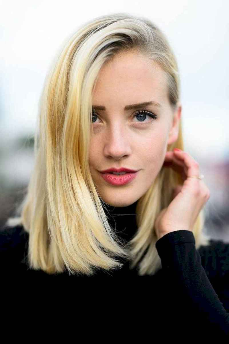 18 Stylish Lob Hairstyle For Fall and Winter