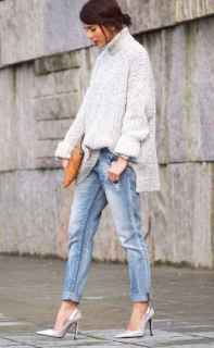 20 Amazing Outfit Ideas for Wearing Oversized Sweaters