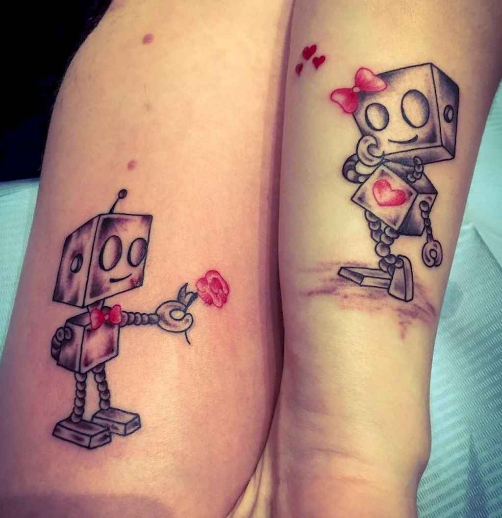 20 Creative Couple Tattoos That Celebrate Love's Eternal Bond