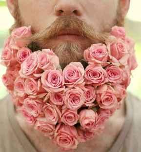 20 Most Elaborate Flower Beard Ideas