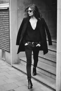 22 Chic All Black Outfit