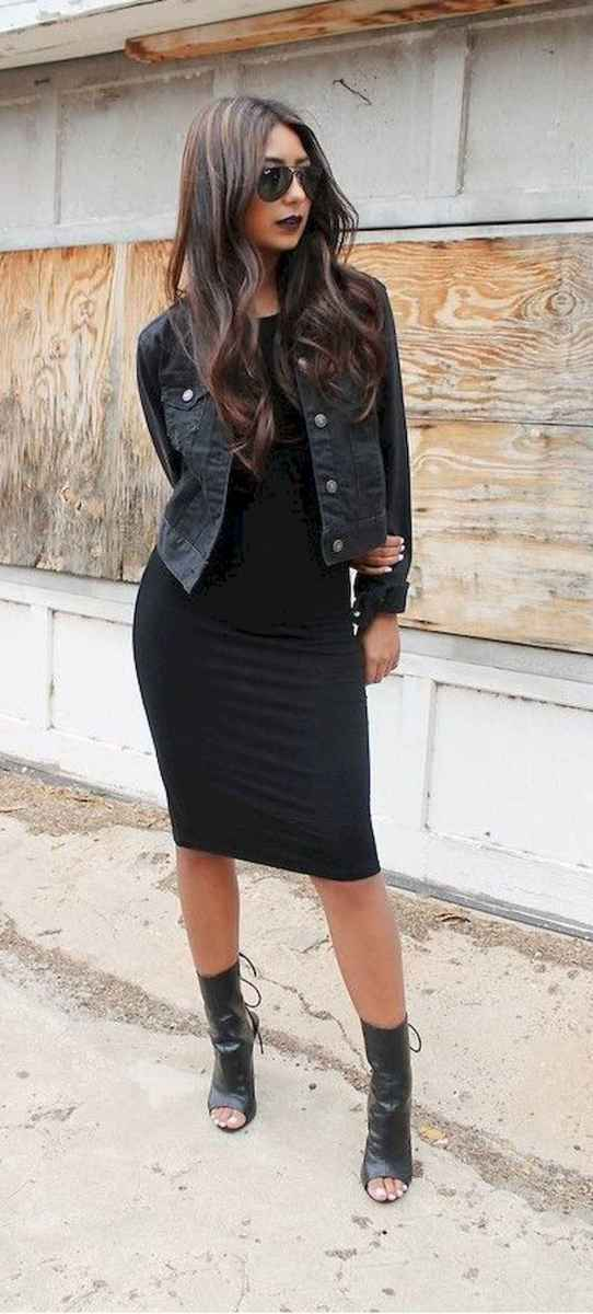 24 Chic All Black Outfit