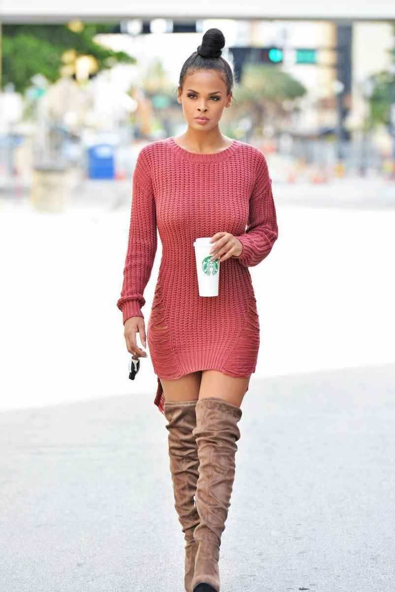 31 Adorable Winter Outfit Ideas with Boots