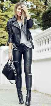 31 Cool Girls WaysTo Wear Leather Legging
