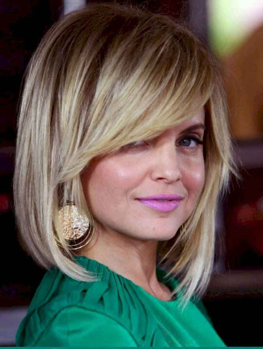 32 Stylish Lob Hairstyle For Fall and Winter