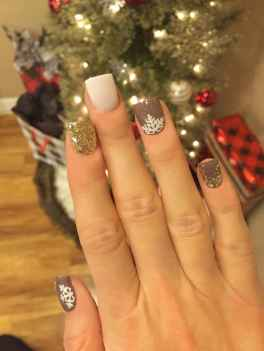 35 Easy Winter Nail Art Ideas