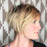 35 Messy Short Hair for Pretty Girls