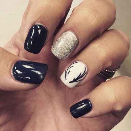 36 Easy Winter Nail Art Ideas