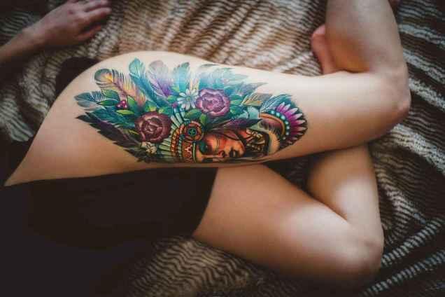 40 Most Popular Leg Tattoos Ideas for Women