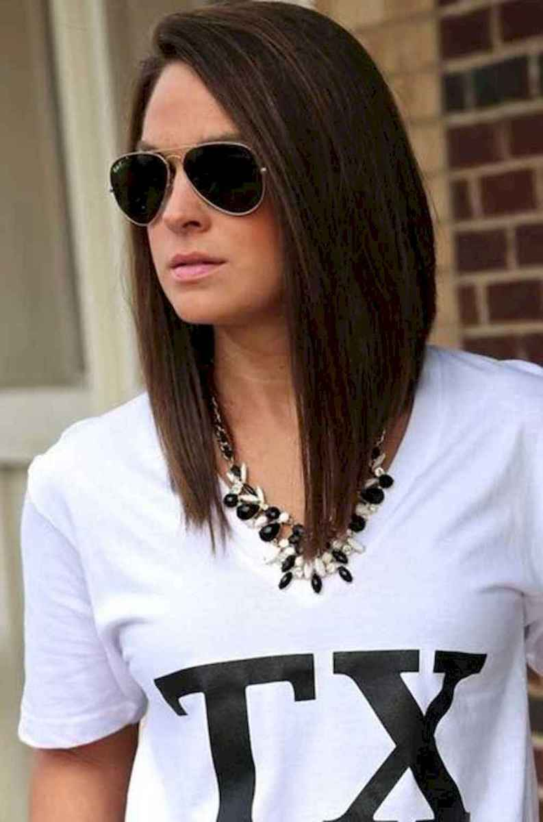 43 Stylish Lob Hairstyle For Fall and Winter