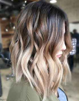 44 Stylish Lob Hairstyle For Fall and Winter