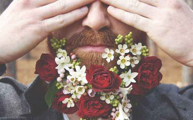 48 Most Elaborate Flower Beard Ideas