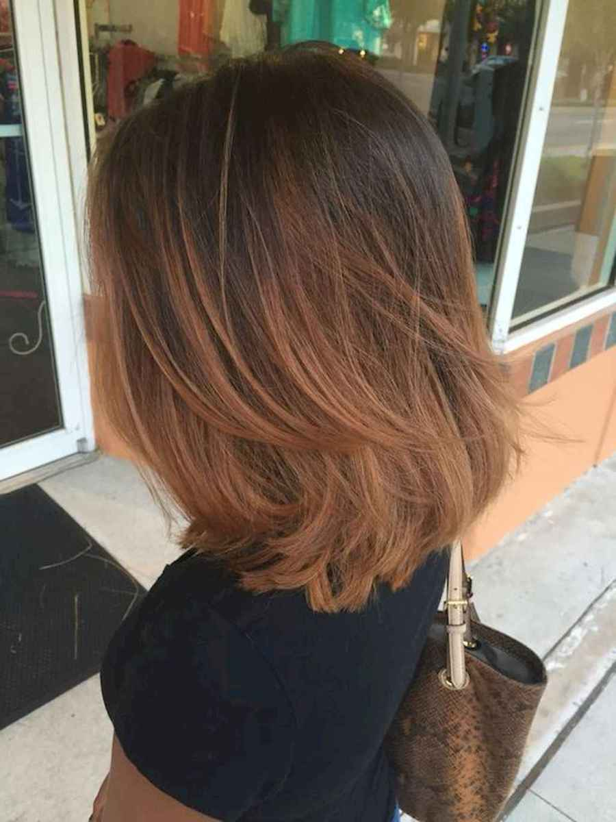 52 Stylish Lob Hairstyle For Fall and Winter
