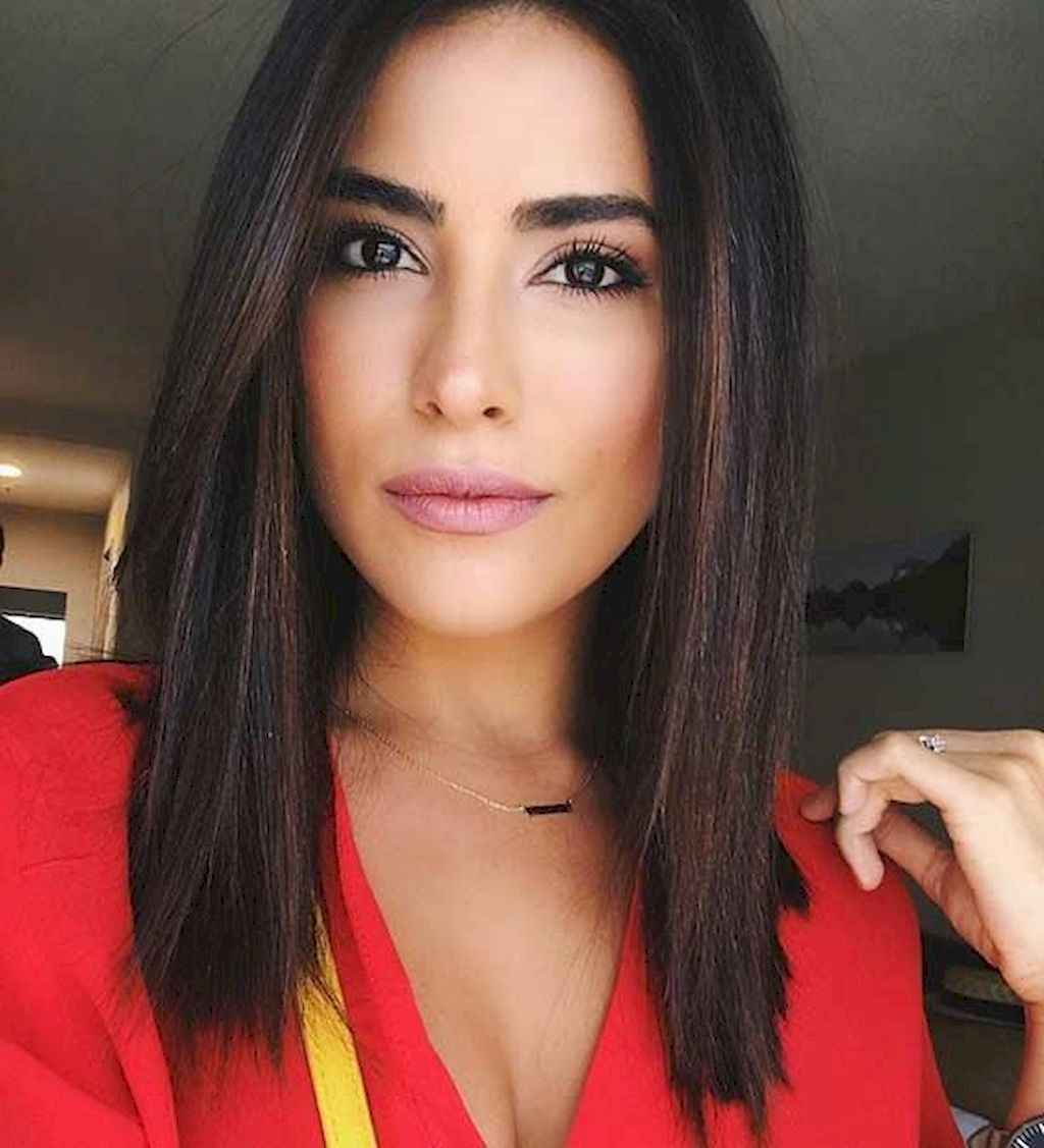 54 Stylish Lob Hairstyle For Fall and Winter