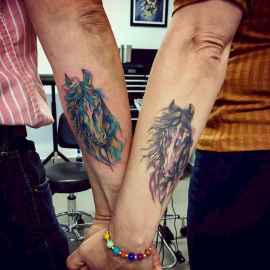 56 Creative Couple Tattoos That Celebrate Love's Eternal Bond