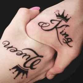 57 Creative Couple Tattoos That Celebrate Love's Eternal Bond