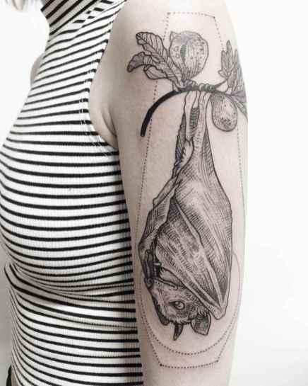 01 Unique Bat Tattoo Designs Ideas