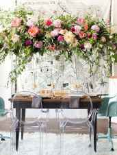 03 Rustic Wedding Suspended Flowers Decor Ideas