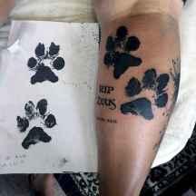 04 Cute Paw Print Tattoo Designs Ideas You Must Love