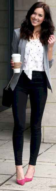 05 Bussiness Outfit with High Heels Inspiration