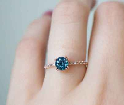 07 Simple Engangement Ring for Every Kind Women