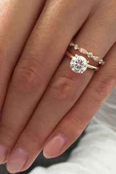 08 Simple Engangement Ring for Every Kind Women