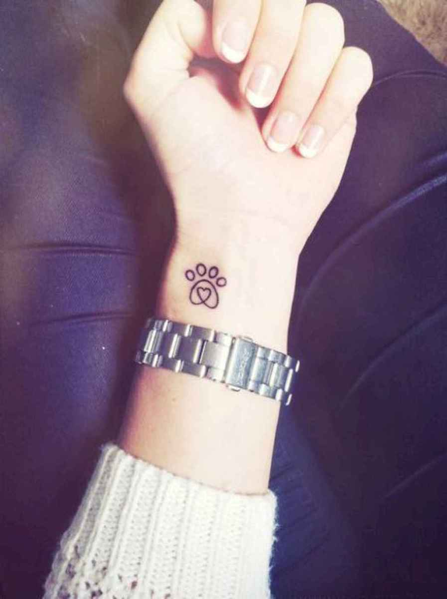 09 Cute Paw Print Tattoo Designs Ideas You Must Love