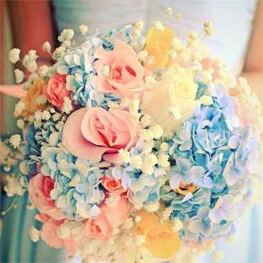 12 Beautiful Pastel Wedding Decor Ideas for the Spring
