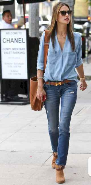 12 Simple and Cute Outfits Ideas with Double Denim