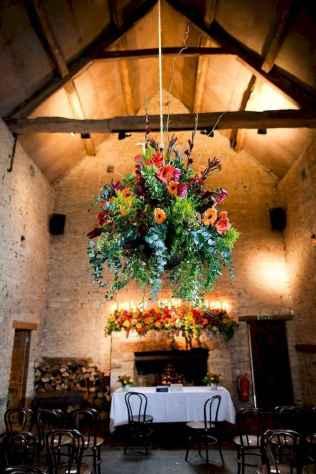 13 Rustic Wedding Suspended Flowers Decor Ideas