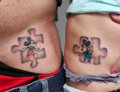 15 Coolest Puzzle Piece Autism Tattoos Art Ideas