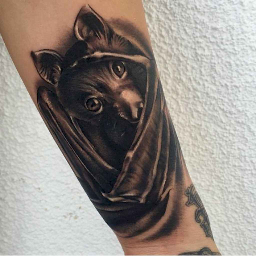 20 Unique Bat Tattoo Designs Ideas