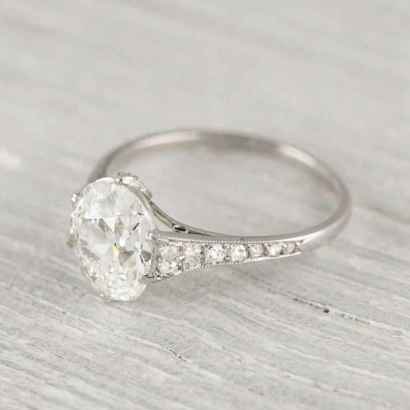 21 Simple Engangement Ring for Every Kind Women