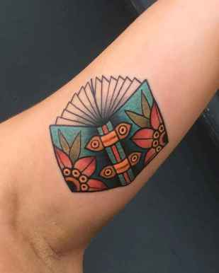 23 Awesome Book Tattoo Designs Ideas For Bookworms