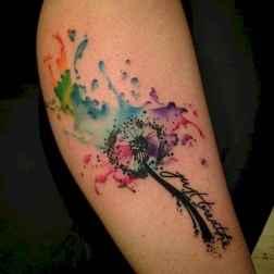 24 Most Beautiful Watercolor Tattoos Art Ideas