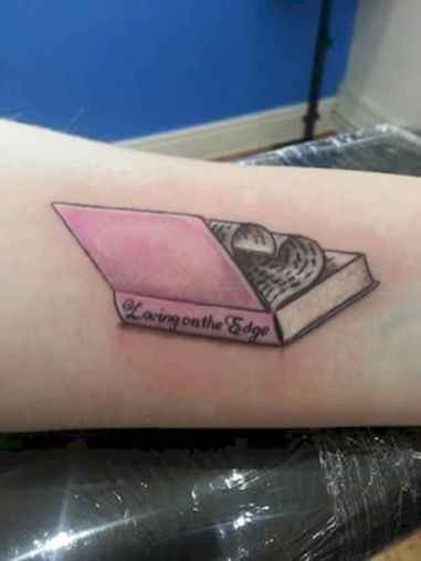 26 Awesome Book Tattoo Designs Ideas For Bookworms