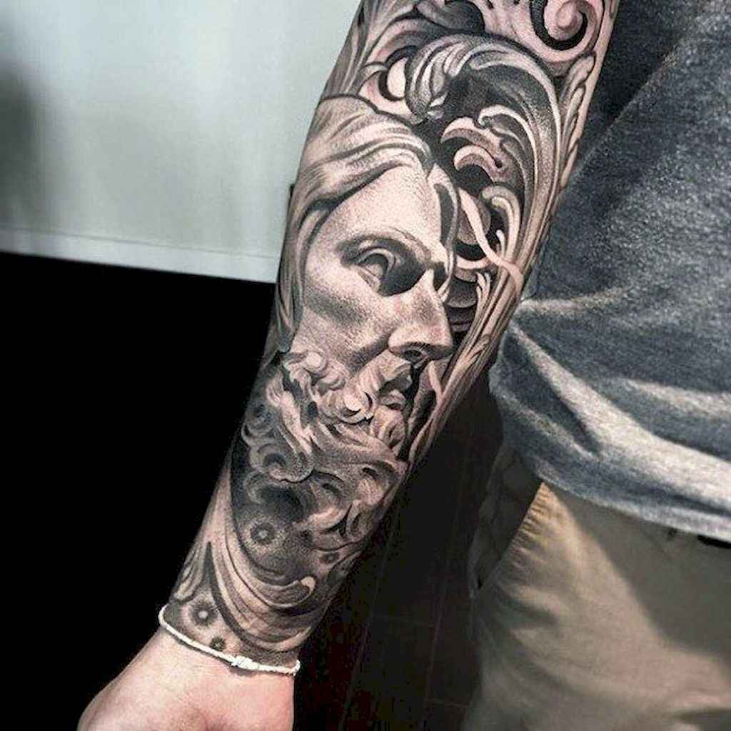 27 Amazing Sleeve Tattoos Ideas for Guys that Look Masculine