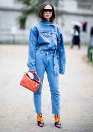 36 Simple and Cute Outfits Ideas with Double Denim