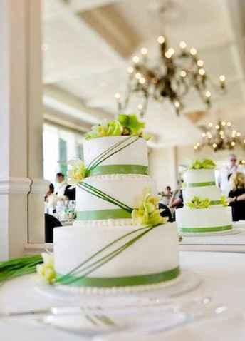38 Green Wedding Cake Inspiration with Classy Design