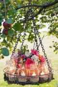 39 Rustic Wedding Suspended Flowers Decor Ideas