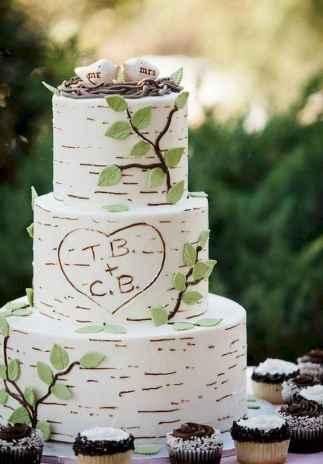 40 Green Wedding Cake Inspiration with Classy Design